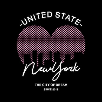 Typographie de new york