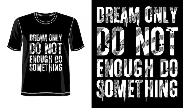 Typographie de rêve