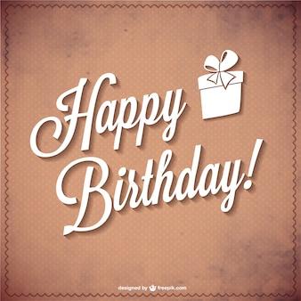 Typographie vecteur de joyeux anniversaire