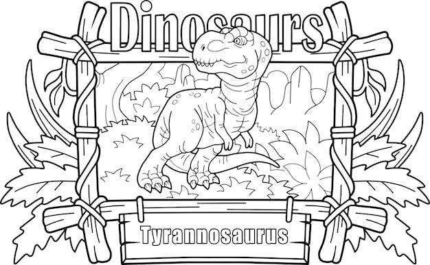 Tyrannosaure de dinosaure