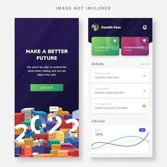 Ui design today application smart task