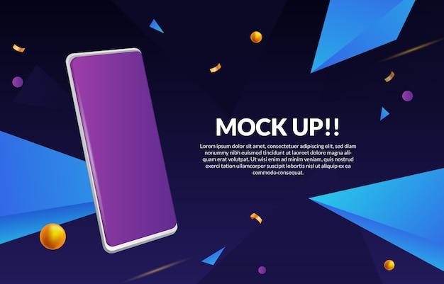 Ui / ux pour smartphone 3d