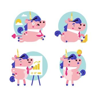 Ukko la licorne stickers