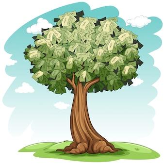 Un arbre d'argent