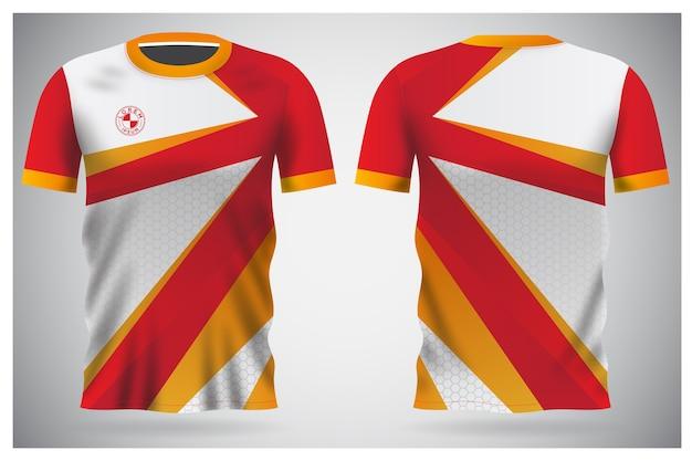 Uniformes d'équipe et conception de t-shirts de football