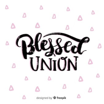 Union bénie