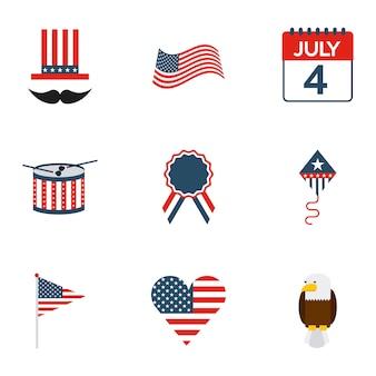 Usa symbole design, illustration vectorielle eps10 graphique