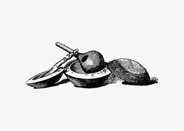 Ustensiles de cuisine antiques