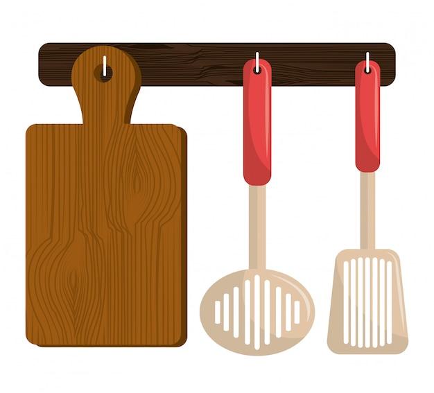 Ustensiles de cuisine et vaisselle