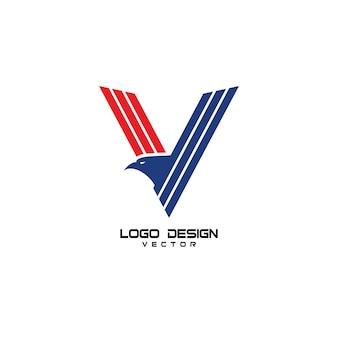 V eagle logo