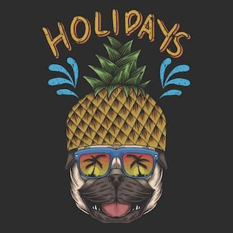 Vacances carlin ananas