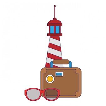 Vacances d'été et dessins animés