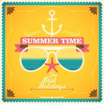 Vacances d'été graphique gratuit