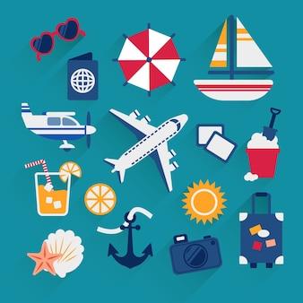 Les vacances d'été des icônes