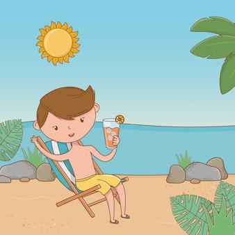 Vacances et été en plein air