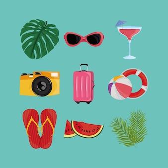 Vacances d'été tropicales