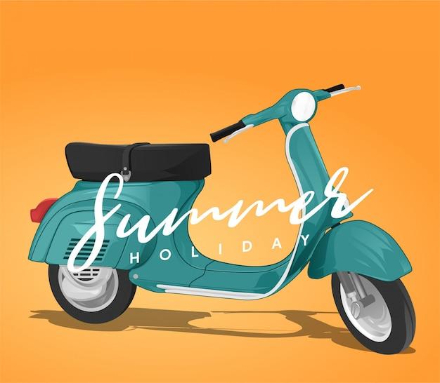 Vacances d'été vespa