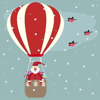 Vacances de fond transparente avec des boules de noël et des flocons de neige