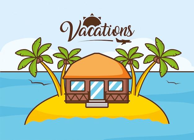 Vacances à la plage
