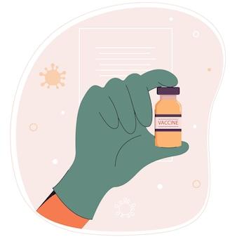 Le vaccin contre le coronavirus covid19 traitement médical grippe pandémique corona