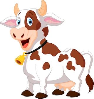 Vache heureux