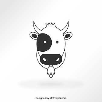 Vache icône