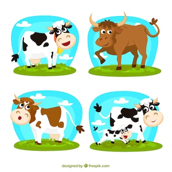 Vaches cartoon