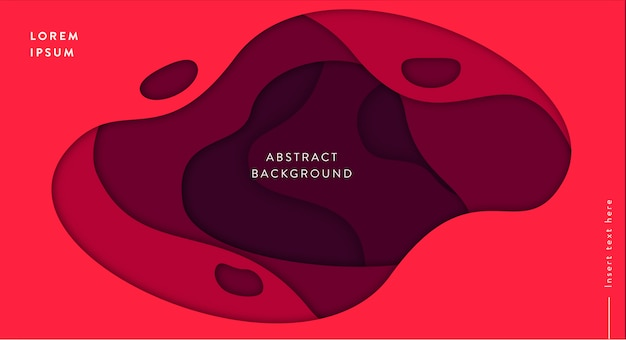Vagues abstrait