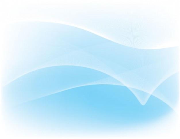 Vagues de couleur bleu clair