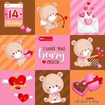 Valentine bear box