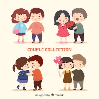 Valentine couple adorable collection