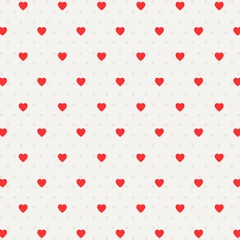 Valentine heart pattern background