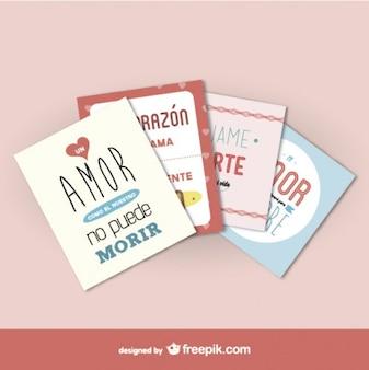 Valentines phrases pack