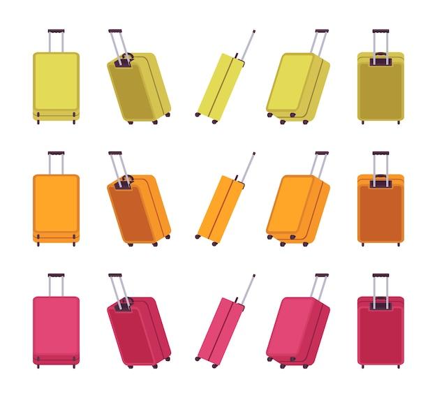 Valises de voyage modernes