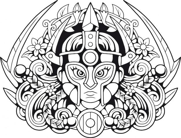 Valkyrie mythologique