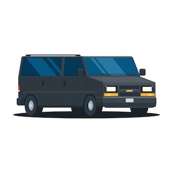Van noir