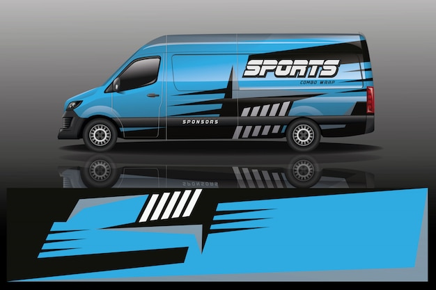 Van wrap design pour entreprise