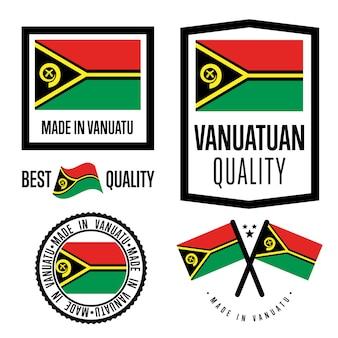 Vanuatu label de qualité
