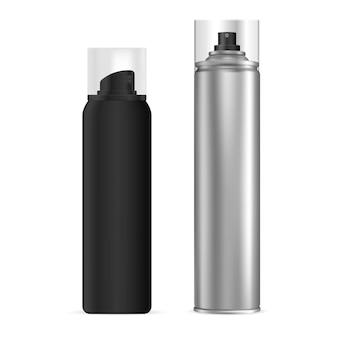 Vaporisateur aérosol aérosol, blanc en aluminium de laque pour cheveux