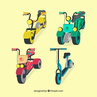 Variété originale de scooters électriques