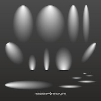 Variété de projecteurs