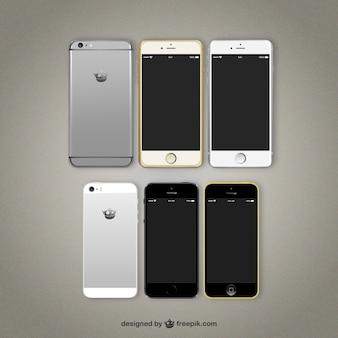 Variété de téléphones mobiles