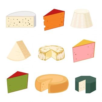 Variétés de fromages