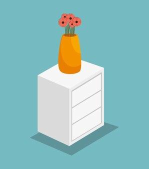 Vase sur la table