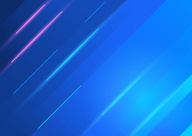 Vecteur abstrait bleu en eps 10