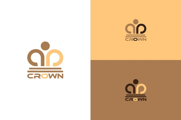 Vecteur abstrait du logo de la couronne adapté aux services juridiques, aux forces de l'ordre, aux avocats, aux avocats, aux cabinets d'avocats