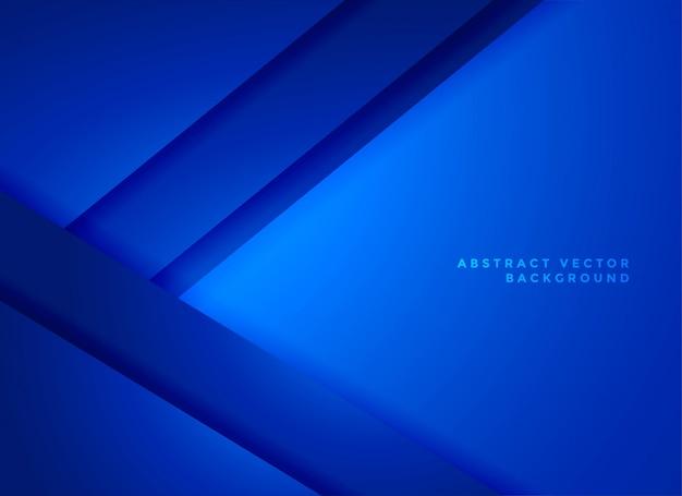 Vecteur abstrait géométrique bleu