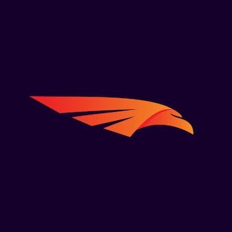 Vecteur aile aigle logo