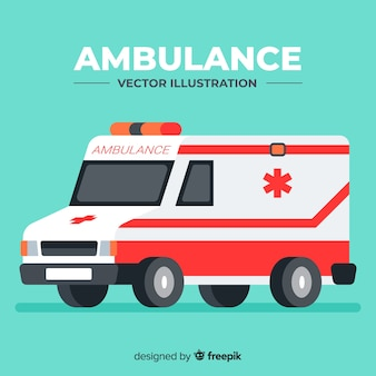 Vecteur ambulance