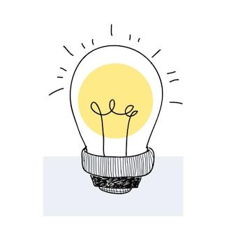 Vecteur d'une ampoule